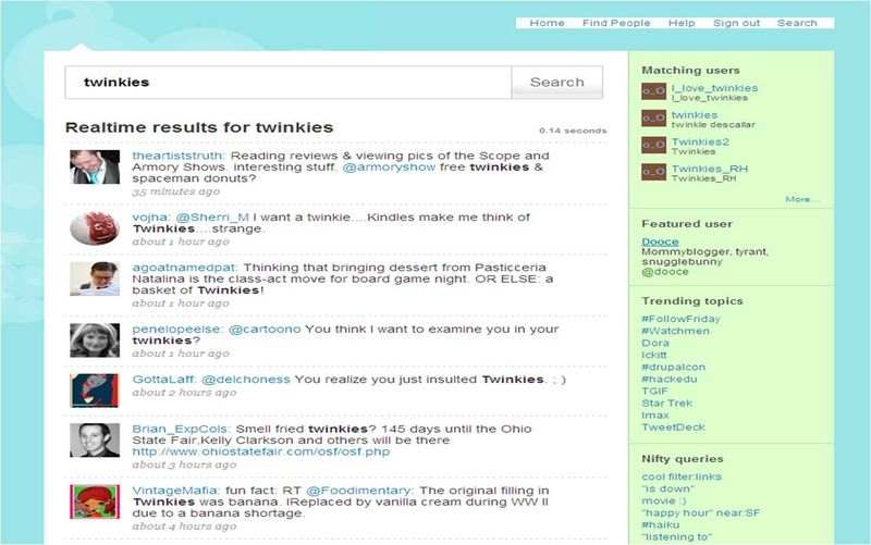 New twitter layout mar 09 twinkies