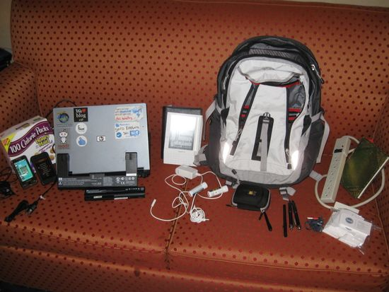 SXSW 2009 travel bag