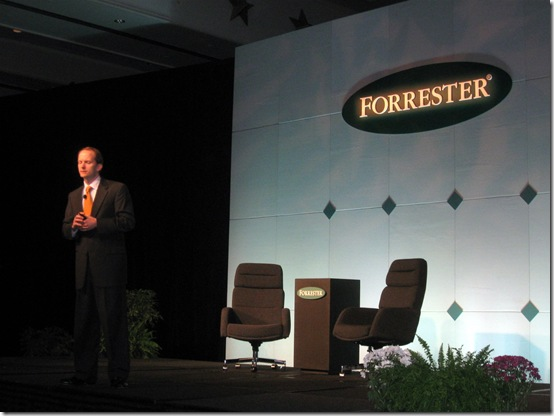 AT&T CMO David Christopher at Forrester Marketing Forum