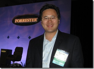 Jeremiah Owyang at Forrester Marketing Forum 09 - fmf09
