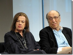 Judy McGrath and Milton Glaser
