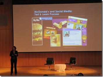 Heather Oldani, Director, Communications, McDonald's U.S.A., L.L.C.. at BDI social consumer b2c  case studies