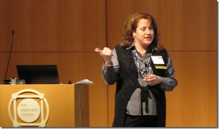 Allstate Insurance's Marcia Hansen, responsible for direct marketing, talked about Allstate's social media program at BDI