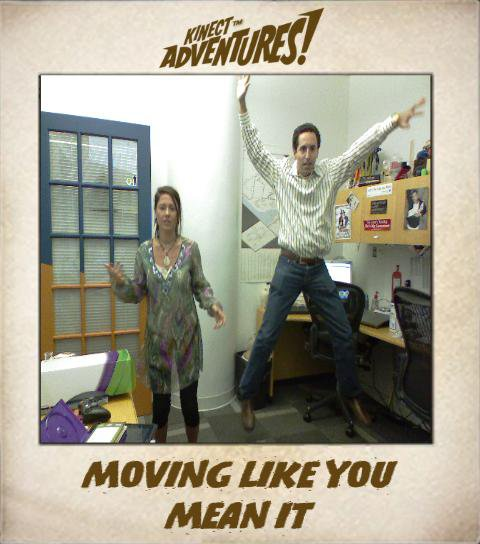 Kinect - moving like you mean it