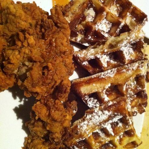 Chicken waffles birch