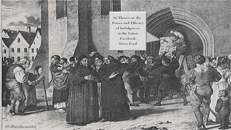 Facebook protest martin luther