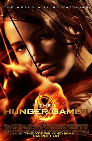 Hunger games poster