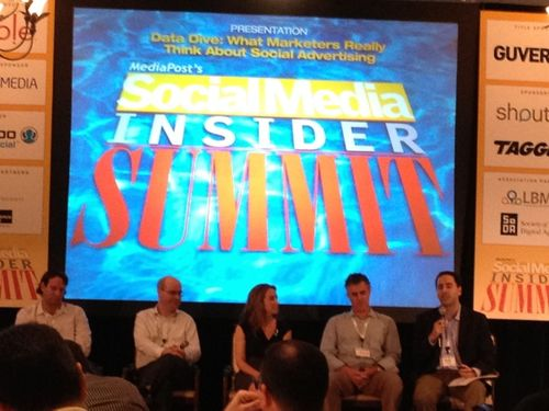 Drew neisser social media insider summit panel instant rfp