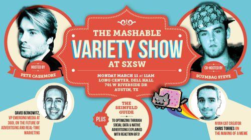 Mashable variety show