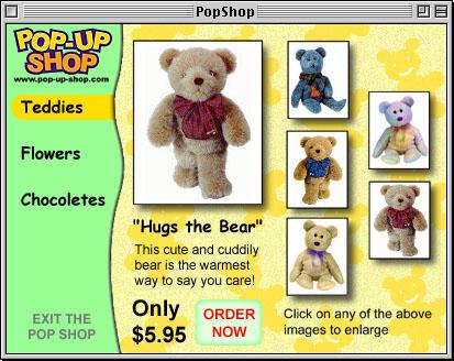 Pop-up shop store